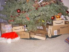 amazon boxes under a christmas tree - Amazon Christmas Tree